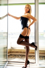 Inna - Inna in corset and stockings