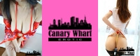 Canary Wharf Erotic Advert Banner