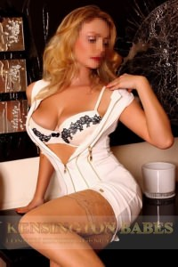 Katya - Blonde London Escort at Kensington Babes