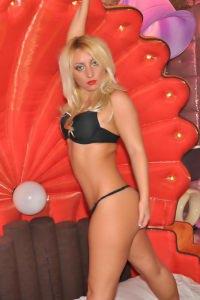 Blonde London Escort
