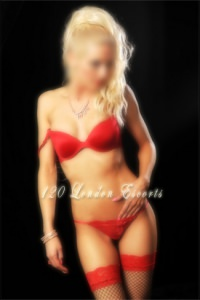 Blonde London Escort