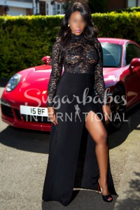 PARIS - A PLAYFUL AND NAUGHTY BRITISH EBONY ESCORT