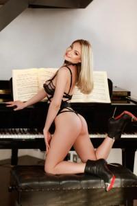 Miki - Blonde London Escort