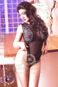 Aliyah - Black-haired escort in London