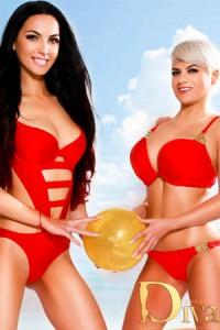 Raphaela and Leonie
