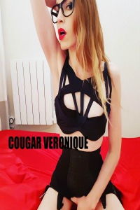 Cougar Veronique Black Dress