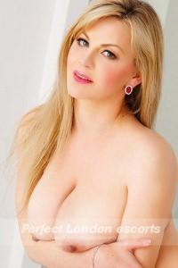 Blonde Busty Babe Dolly