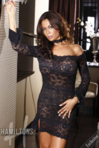 Colombian Latin escorts in London - Angelina at Hamiltons Escorts