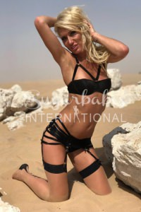 GISELLE - BLONDE, SLIM AND BUSTY ENGLISH ESCORT LIKES TO PARTY