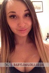 Brunette Russian girl