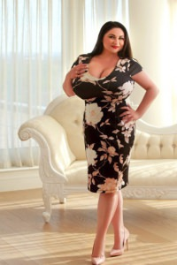 Ilonela busty escort in London