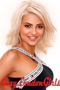 Alexandra, Blonde London Escort