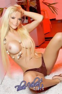Tuany is a trully sexy blonde escort girl, with a gorgeous figure and a 34DD!