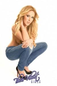 Blue Velvet Girl Morgan